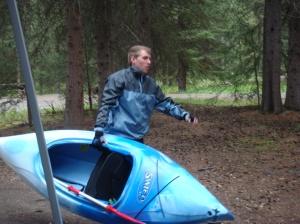 Preparing for a great trip in Banff National Park, Alberta